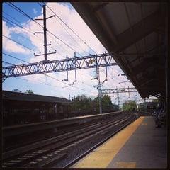 Photo taken at Metro North - Milford Train Station by Matt B. on 5/12/2013