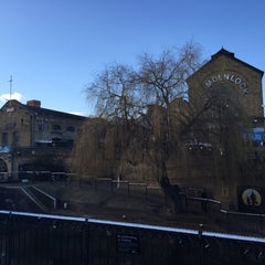 Photo taken at Camden Town by Deniz on 2/3/2016
