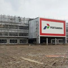 Photo taken at PT Pertamina (PERSERO) RU II Dumai by Laek Ketzman L. on 11/7/2013