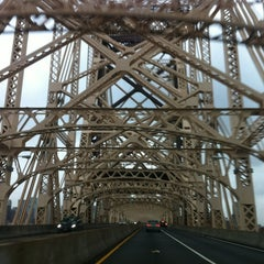 Photo taken at Ed Koch Queensboro Bridge by Andrew T. on 10/30/2012