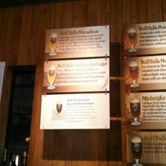 Photo taken at Bull Falls Brewery by Julie M. on 10/4/2014