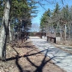 Photo taken at Mine Falls Park by John S. on 4/3/2013