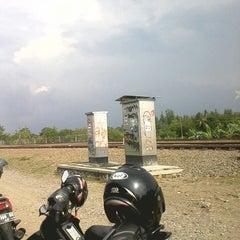 Photo taken at Stasiun Patukan by Dedy W. on 11/4/2013