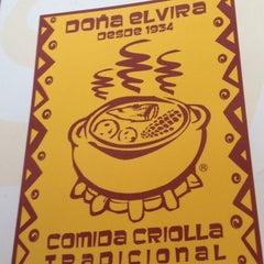 Photo taken at Doña Elvira by Diana Milena R. on 10/27/2012