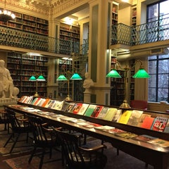 Photo taken at Boston Athenaeum by Kaitlin T. on 1/17/2016