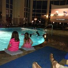 Photo taken at Pool @ Hyatt. by TREX on 6/22/2013