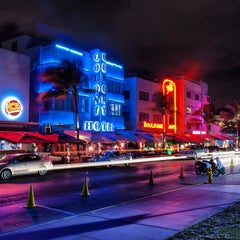 Photo taken at Ocean Drive by Bar M. on 1/19/2013