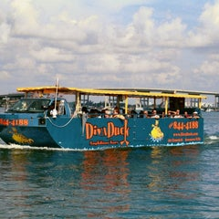 Photo taken at DivaDuck Amphibious Tours by DivaDuck Amphibious Tours on 11/6/2013