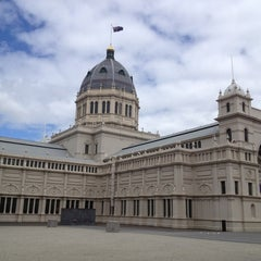 Photo taken at Royal Exhibition Building by Eric Z. on 2/28/2013