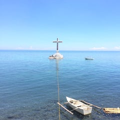 Photo taken at Sunken Cemetery Cross by Jc T. on 6/2/2015