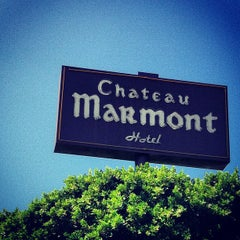 Photo taken at Château Marmont by Fer G. on 9/18/2012