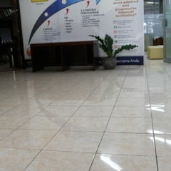 Photo taken at Bank Mandiri by Danny W. on 2/24/2014
