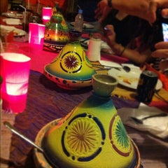 Photo taken at Kasbah - Flavors of Morocco by Larees D. on 8/27/2012
