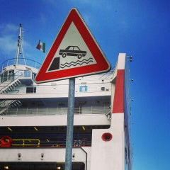 Photo taken at Ancona Ferries Terminal by Elena M. on 7/15/2014