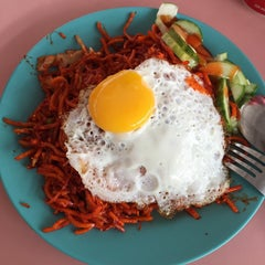 Photo taken at Bukit Merah Central Food Centre by Candice A. on 6/2/2015