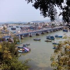 Photo taken at Champa Island by Marek H. on 4/13/2014