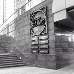 Photo taken at Civic Square 演薈廣場 by Hening H. on 6/2/2014