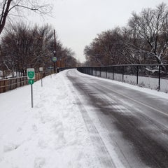 Photo taken at The Midtown Greenway by Kevin Q. on 12/4/2013