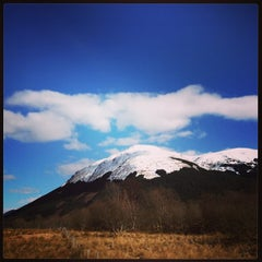 Photo taken at Monachyle Mhor by Craig T. on 4/1/2013
