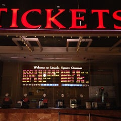 Photo taken at Lincoln Square Cinemas by Gilberto S. on 6/22/2013