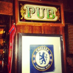 Photo taken at The Blue Pub by Victor C. on 3/16/2013