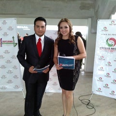 Photo taken at Unidad deportiva by Gloria Adelina R. on 12/20/2013