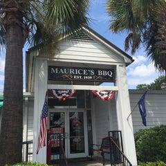 Photo taken at Maurice's BBQ Piggie Park by Karen T. on 8/28/2015