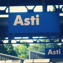 Photo taken at Stazione Asti by Paolo A. on 5/26/2013