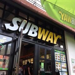Photo taken at Subway by Sophia E. on 9/5/2014