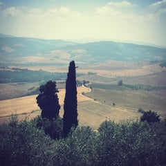 Photo taken at Pienza by Çağrı on 7/3/2015