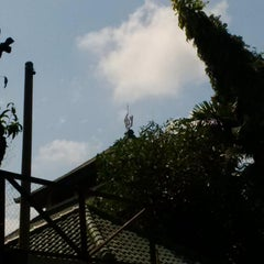 Photo taken at Masjid Agung Sudirman by Aguest T. on 6/26/2015