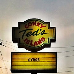 Photo taken at Ted's Coney Island by AJ H. on 9/28/2012