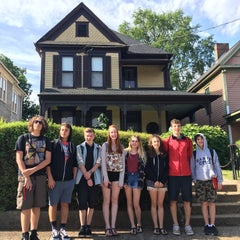Photo taken at Martin Luther King Jr. Birth Home by Bryan H. on 5/23/2016