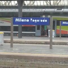 Photo taken at Stazione Milano Rogoredo by Gianluca P. on 6/20/2013