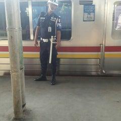 Photo taken at Stasiun Cilebut by Yan Benedict M. on 4/25/2016
