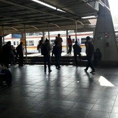Photo taken at Stasiun Cilebut by Yan Benedict M. on 4/11/2016