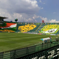 Photo taken at Estadio León by Lets A. on 9/29/2013