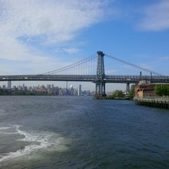 Photo taken at East River Ferry - Schaefer Landing/S. Williamsburg Terminal by Corinne P. on 5/15/2015