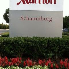 Photo taken at Chicago Marriott Schaumburg by Hope P. on 8/16/2013