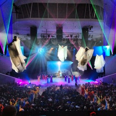 Photo taken at Dream City Church by Aaron P. on 12/11/2012