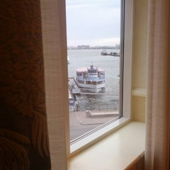Photo taken at Seaport Boston Hotel by peter h b. on 5/2/2013