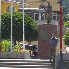 Photo taken at Plaza Bolívar by alejandro s. on 12/25/2013