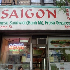 Photo taken at Saigon Vietnamese Sandwich Deli by Kenji S. on 8/17/2014