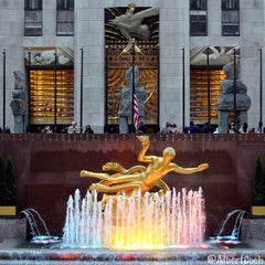 Photo taken at Rockefeller Center by Albert C. on 5/16/2013