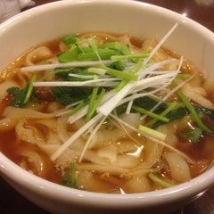 Photo taken at 中国西安料理と刀削麺・火鍋 XI'AN シーアン 神田西口店 by aijyu on 1/17/2015