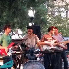 Photo taken at Los Gatos Town Plaza by Nav S. on 8/7/2014