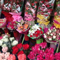 Photo taken at Dangwa Flower Market by Ismelina C. on 5/30/2013