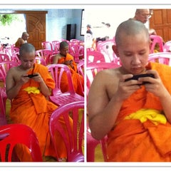 Photo taken at วัดพันแหวน (Wat Phan Waen) by Berd Man Plom-Plam on 6/14/2014