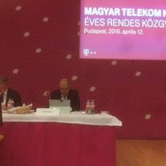 Photo taken at Magyar Telekom Székház by Marton L. on 4/12/2016