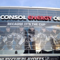 Photo taken at CONSOL Energy Center by Steve P. on 5/17/2013